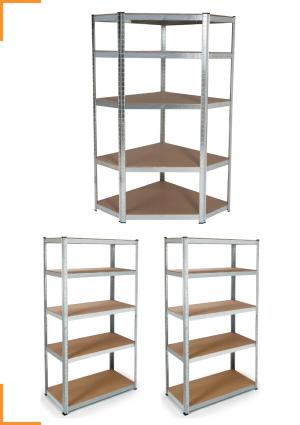 etagere de garage modulable en metal