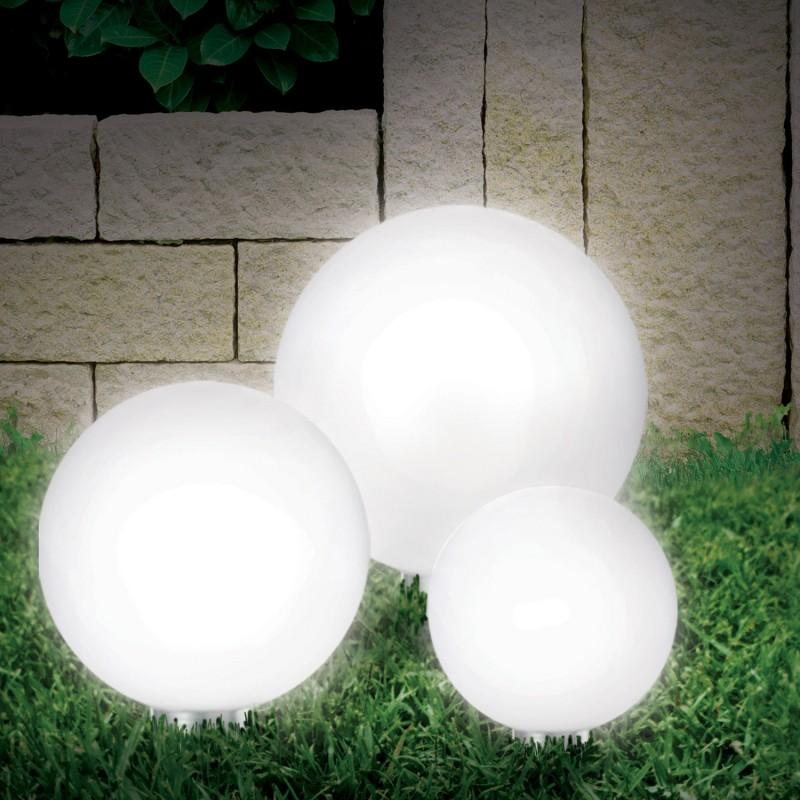 Lampe boule 30 cm solaire design Eclairage et dcoration extrieure