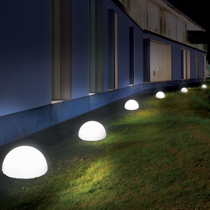 Lampe demiboule solaire 30 cm design Eclairage et dcoration ext