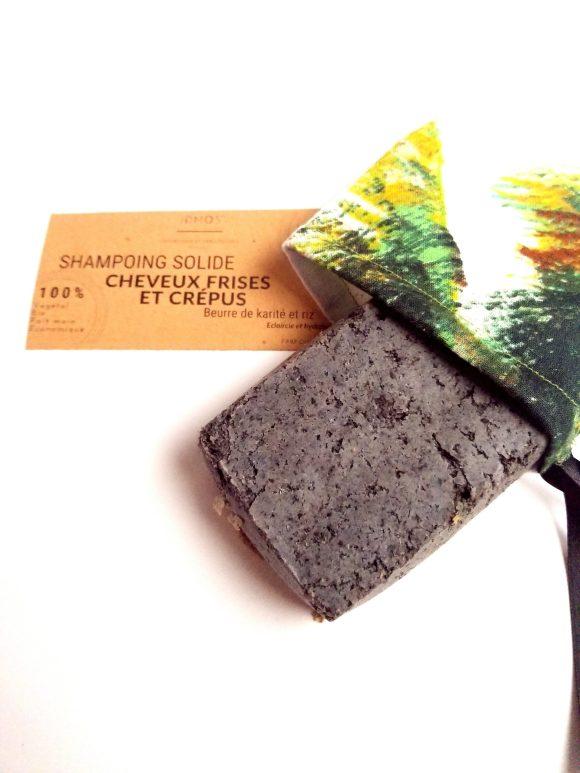 Shampoing solide bio spécial frisés et crépus- IDMOS
