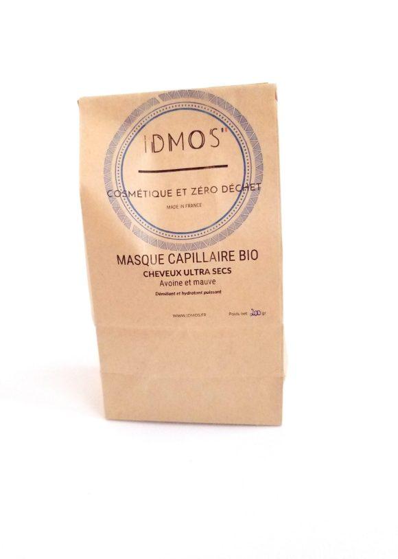 Masque capillaire bio spécial ultra secs- IDMOS