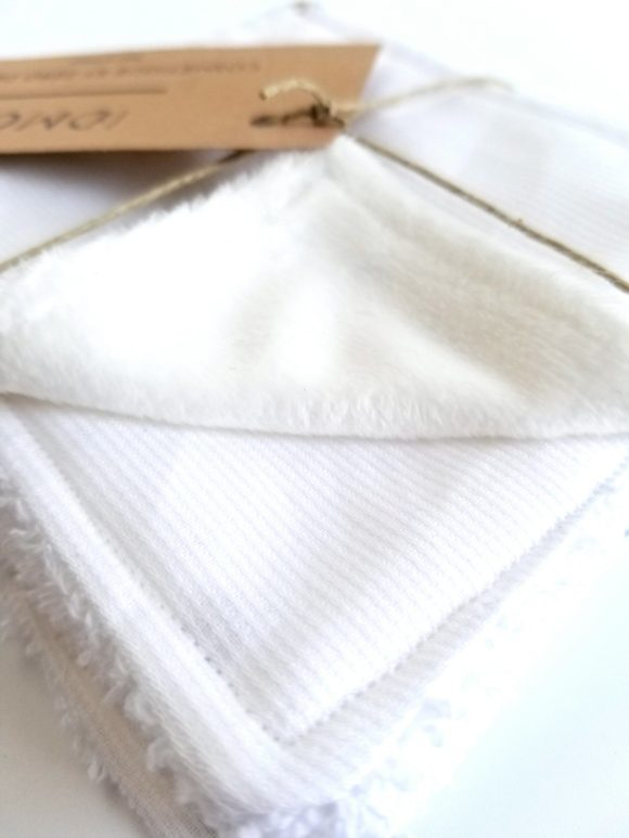 7 lingettes réutilisables et lavables - IDMOS