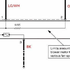 1997 Ford Thunderbird Wiring Diagram 1998 Expedition Premium Radio Blower Motor Resistor Pigtail Replacement
