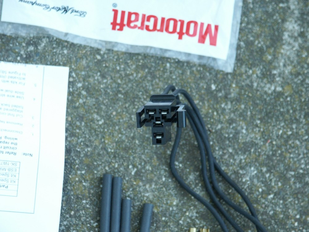 medium resolution of the blower resistor wiring pigtail is also avaliable aftermarket from napa with color coded wires but the napa blower resistor pigtail does not include the