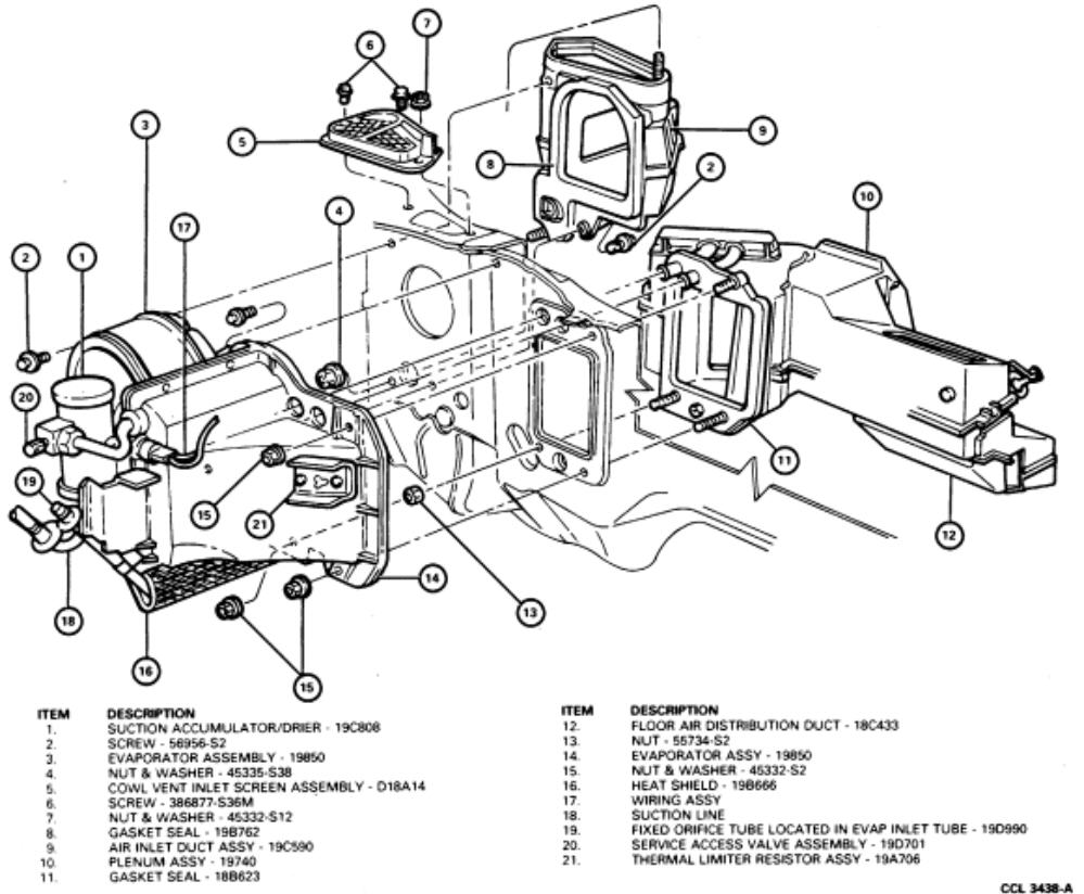 Service manual [2003 Mercury Grand Marquis Heater Fan