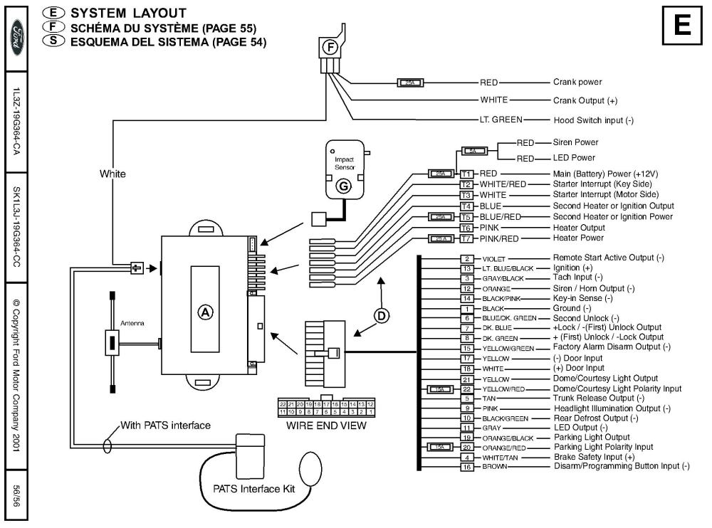 medium resolution of ford remote starter and alarm installationremote start wiring diagrams 5