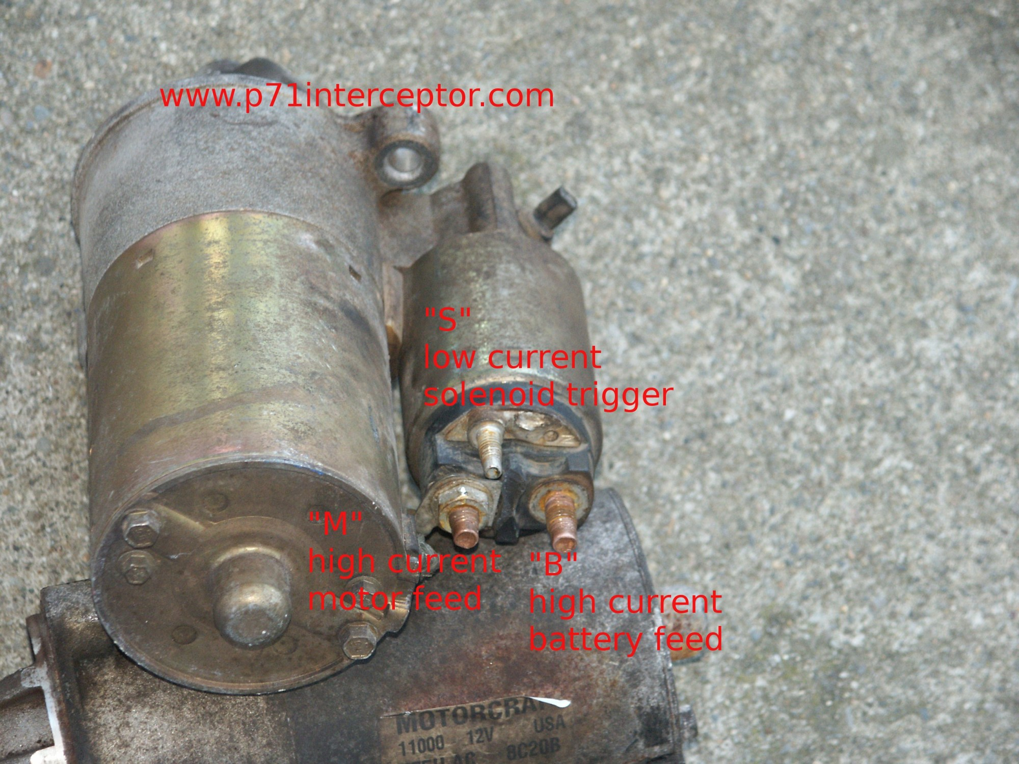 hight resolution of ford starter solenoid spade terminal pict6197 ford starter solenoid spade terminal ford bronco starter solenoid wiring diagram at cita asia