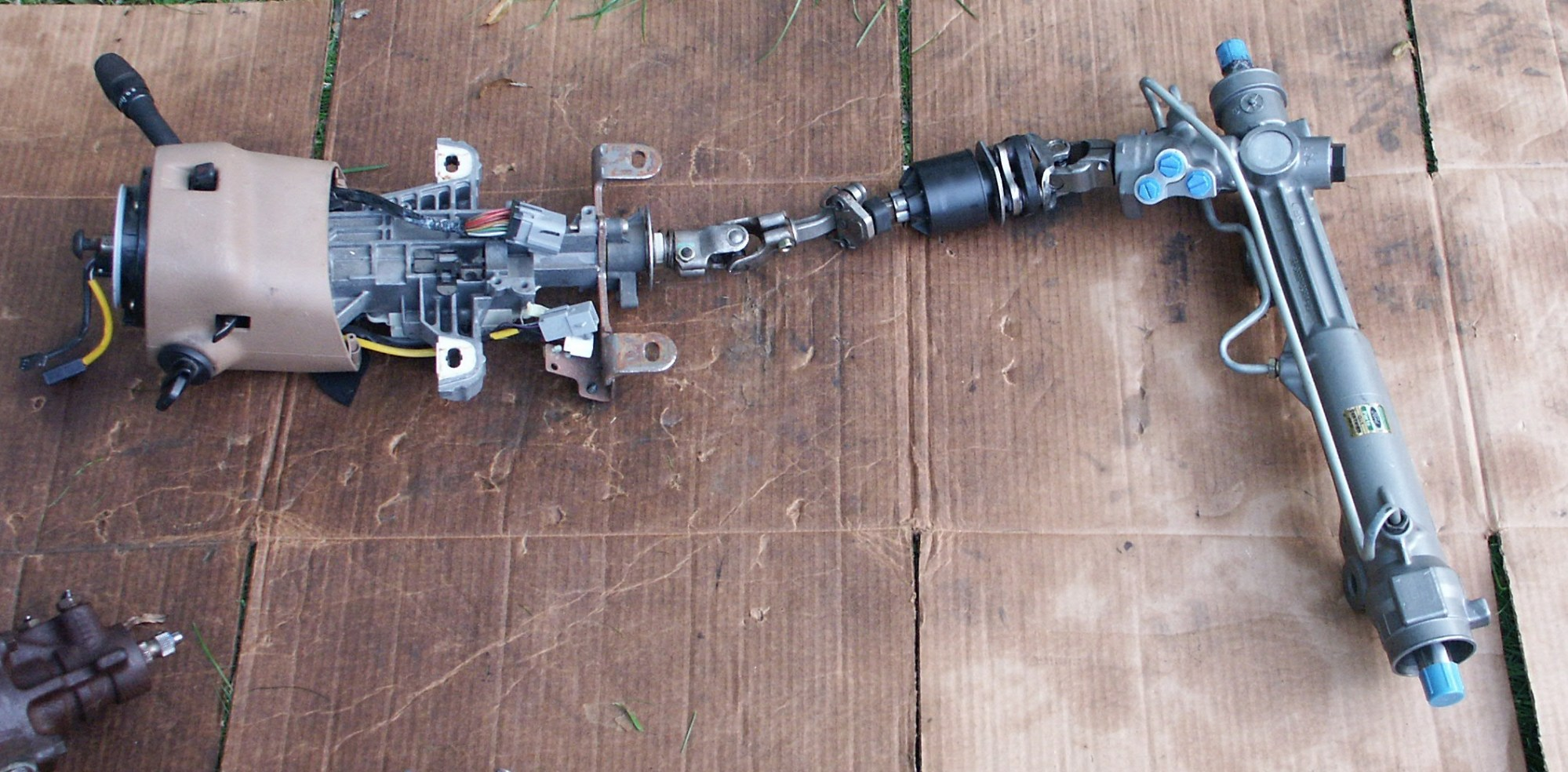 hight resolution of 1998 ford steering column