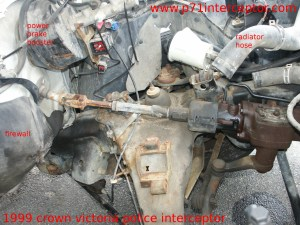 Crown Victoria Steering Column Linkage