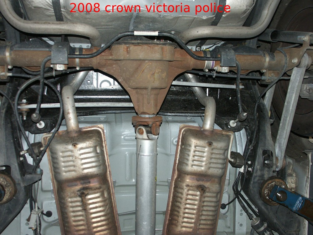 medium resolution of the mufflers hangers in the 2003 cars were completely redesigned the fuel filter remained essentially unchanged though