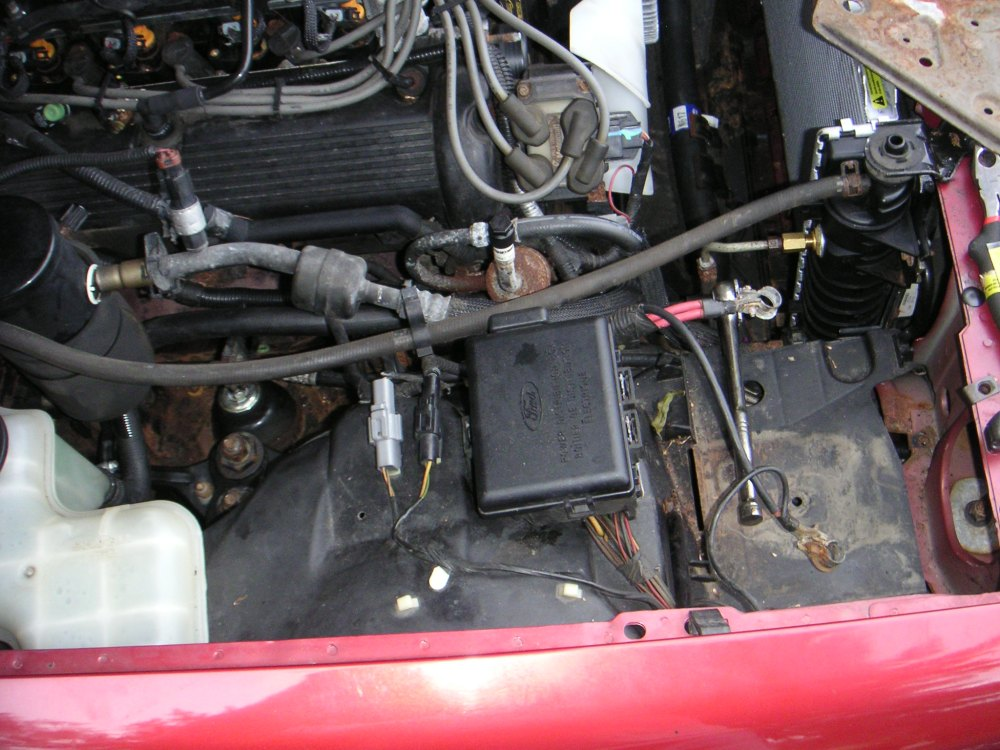 medium resolution of this is the area below the air conditioning evaporator box on the passenger s side of the car that black peice of metal down low is the torque box area of