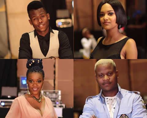Idols SA 2017 Top 4 contestants