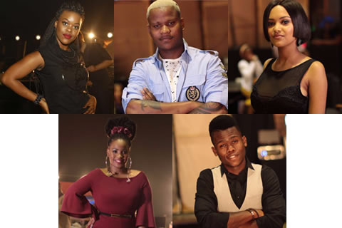 Idols SA 2017 Top 5 Voting