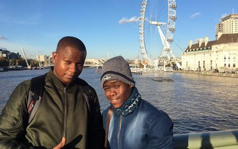 Idols SA 2017 Top 3 London Trip