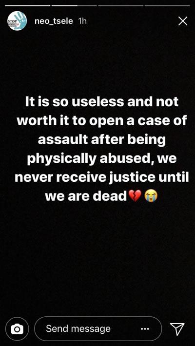 Mthokozisi Ndaba Assault Victim