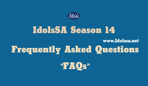 Idols SA 2018 Frequently Asked Questions (FAQs)