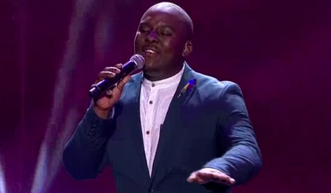 Mthokozisi Ngcobo performing So Amazing by Luther Vandross