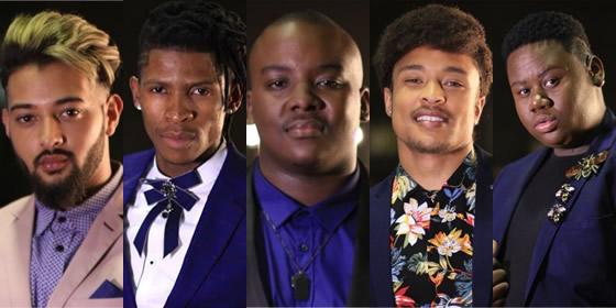 Idols SA 2018 Top 10 Boys