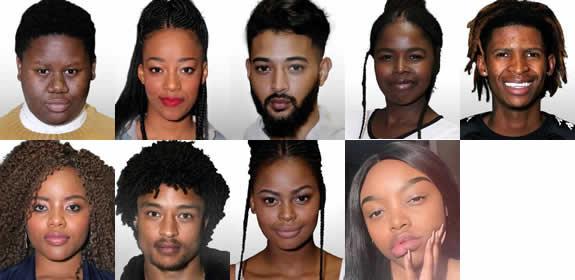 Idols SA 2018 Season 14 Top 9 Contestants