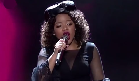 Thando Mngomezulu performing Bills, Bills, Bills By Destiny's Child