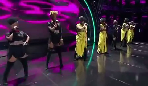 Idols SA 2018 Top 16 Girls Performing Only Girl In The World and We Found Love