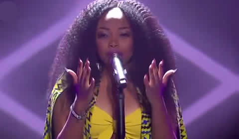 Xae Zamagambu Memela performing Please Mr By Shekhinah