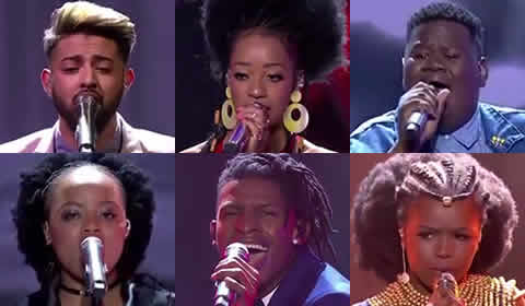 Idols SA 2018 Season 14 Top 6 Contestants Voting