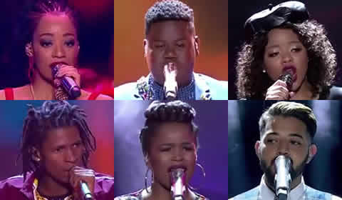 Meet Your Idols SA 2018 Top 6 Contestants