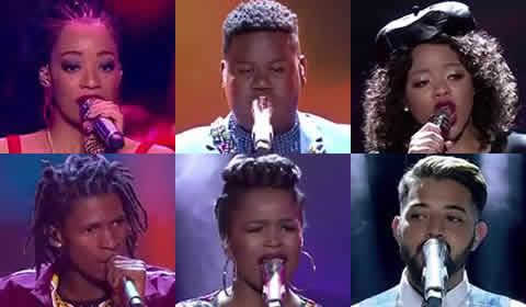 Idols SA 2018 Season 14 Top 6 Voting Numbers