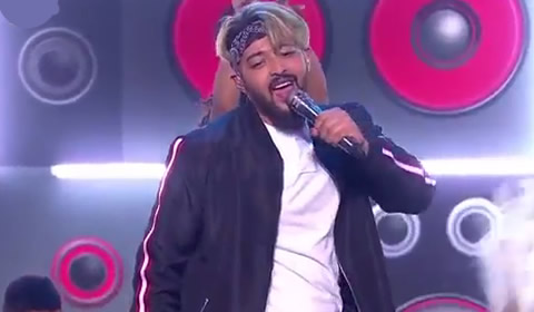 Niyaaz Arendse performing Turn Up The Music By Chris Brown