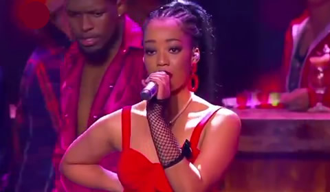Showstopper Nosipho Silinda performing Into You By Ariana Grande