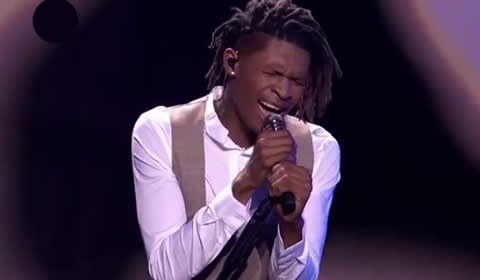 Thato Makape performing I'm Not The Only One by Sam Smith