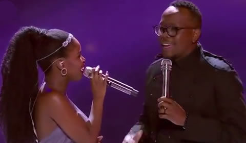 Idols SA 2018 Yanga Sobetwa and Khaya Mthethwa's duet Beauty and the Beast Ariana Grande and John Legend