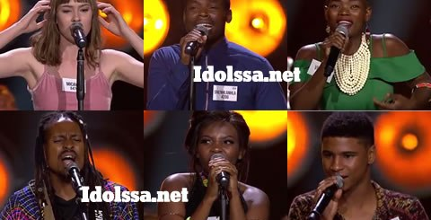 Idols SA 2019 Top 32 Contestants