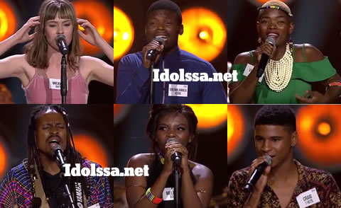Idols SA 2019 Top 32 Contestants
