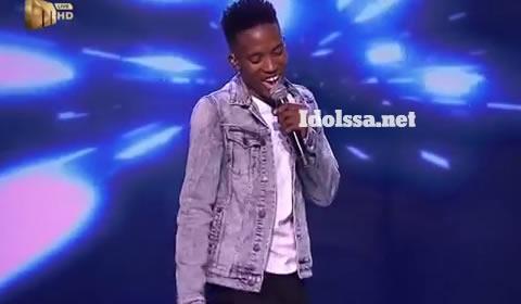 Idols SA 2019 Top 17 Contestant Andy Keys Performing Girls Like You By Maroon 5