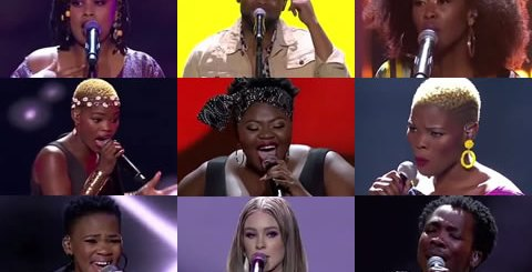 Idols SA 2019 Top 9 Contestants