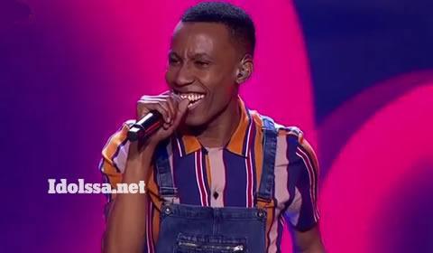 Idols SA 2019 Top 17 contestant Sizwe Hlatshwayo Performing Tigi By Sands