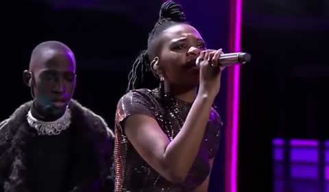 Nqobile Gumede Performing I'm Every Woman by Chaka Khan