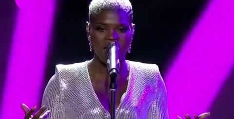 Viggy Qwabe Performing Chandeliar by Sia