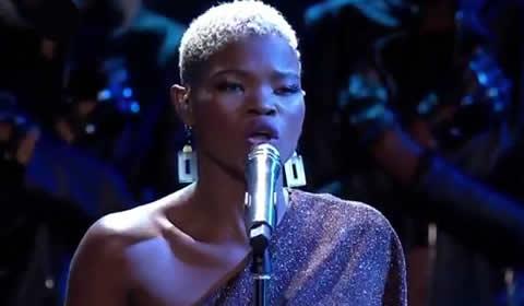 Virginia Qwabe Performing Titanium by David Guetta ft Sia