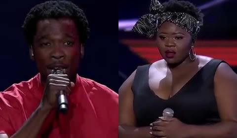 Idols SA 2019 Finalists Luyolo Yiba and Sneziey Msomi