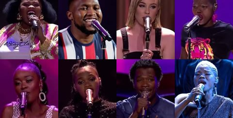 Idols SA 2019 Top 8 Contestants