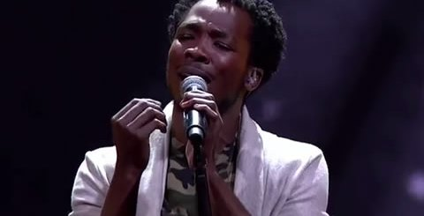 Luyolo Performing Just Say You Won't Let Go By James Arthur