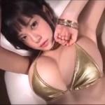 【RaMu】Hカップ29 色気爆発!メタリックゴージャスビキニ姿!