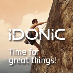 Nova imagem da IDONIC – Time for great things!