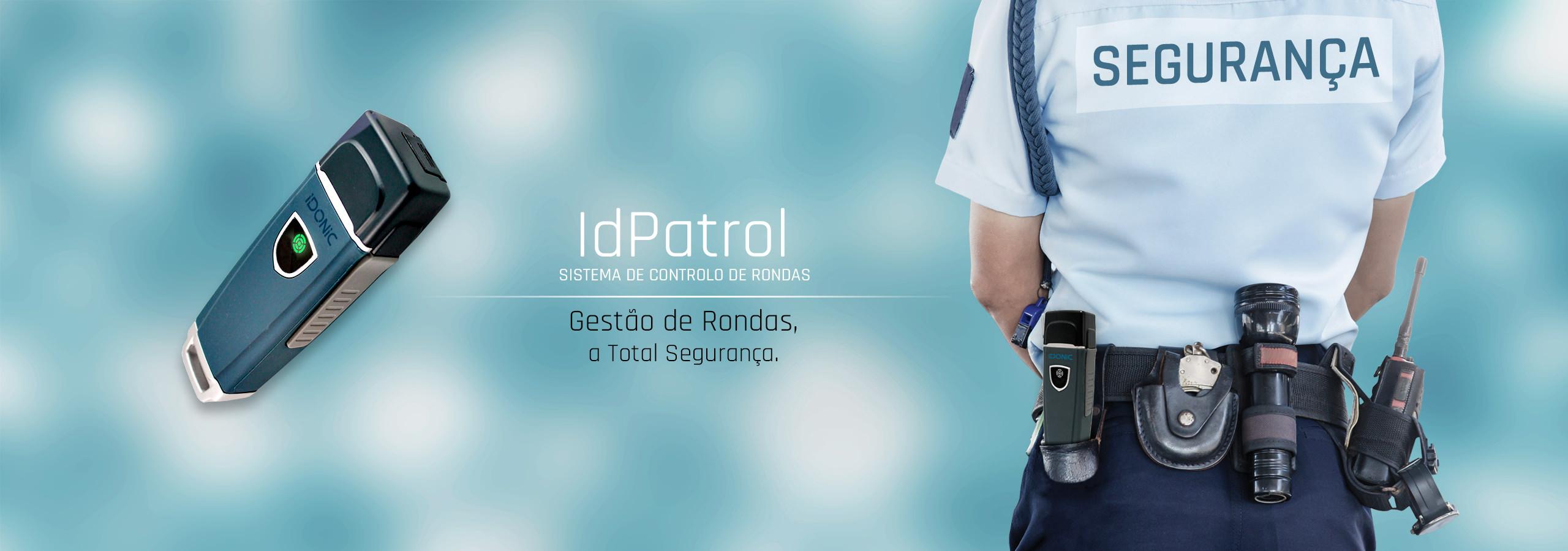 Controlo de Rondas | Controlo de Serviços | Bastões de Rondas | Bastão por Proximidade | Memórias de Contacto | Tag's de Proximidade | Terminais Portáteis | RFID | IDONIC