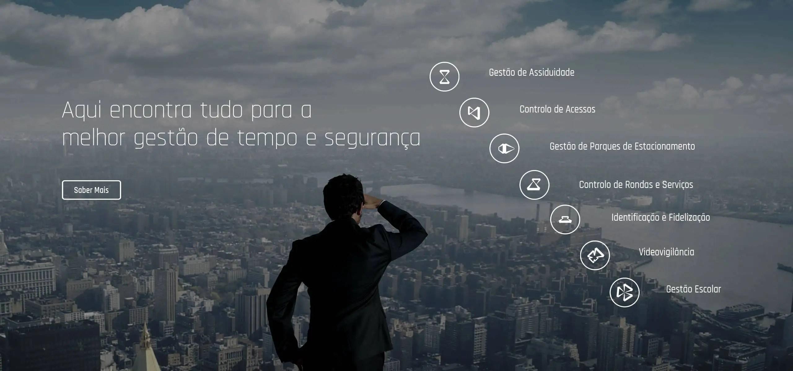 Software de Gestão e Controlo Empresarial   Controlo de Assiduidade   Controlo de Acessos   Videovigilância   Torniquetes   Parques   Soluções IDONIC
