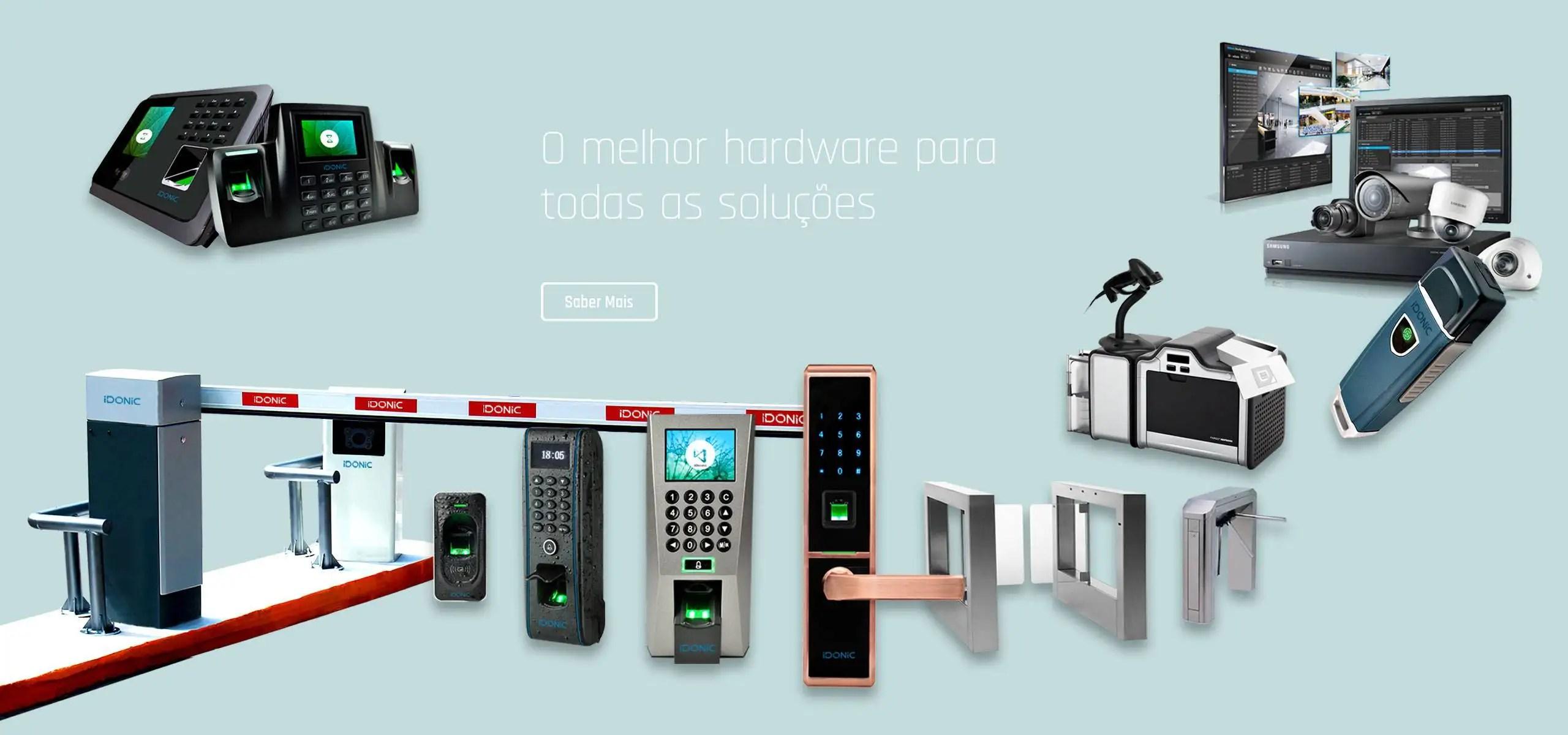 Relógio de Ponto | IDONIC | Terminais de Acesso | Terminais de Assiduidade | Controlo de Acessos | Controlo de Assiduidade