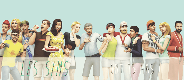 Les Sims ont 15 ans